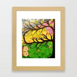 Owl Artwork By MiMi Stirn - Owl Photobomb #370 Framed Art Print