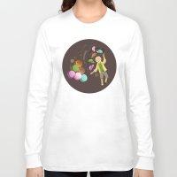 macarons Long Sleeve T-shirts featuring Macarons by Lilian Darmono