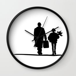 Lèon Wall Clock