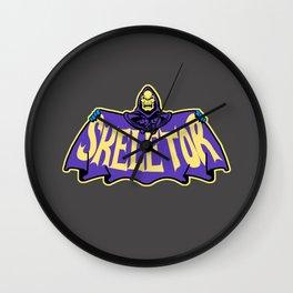 Skeletor cloak Wall Clock