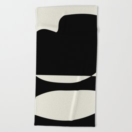// Reverse 01 Beach Towel