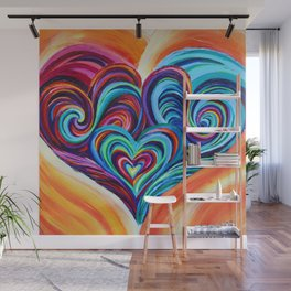 Intertwined Souls Wall Mural