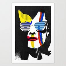 Vilena Vix Art Portrait Art Print