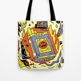 The toxic side Tote Bag