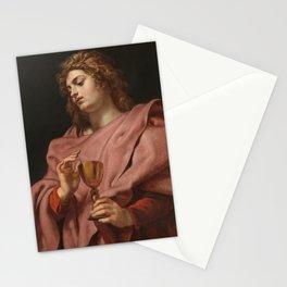 Peter Paul Rubens - Saint John the Evangelist Stationery Cards