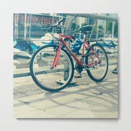 Bike Ride  Metal Print