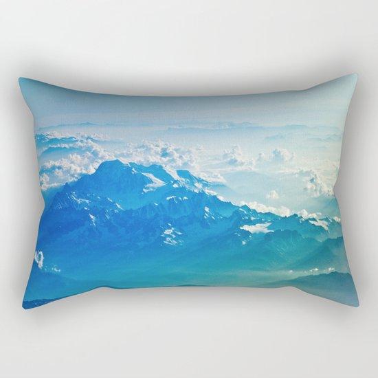 Mountain clouds 2 Rectangular Pillow