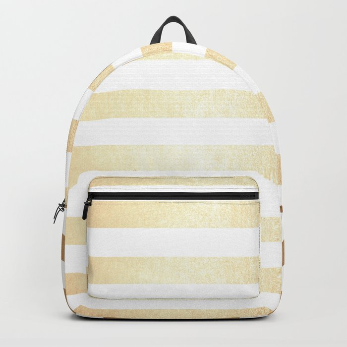 Simply Striped Golden Copper Sun Backpack