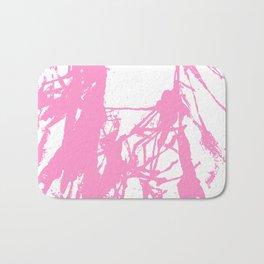 Pink Ink Bath Mat