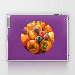Round Persimmon Laptop & iPad Skin