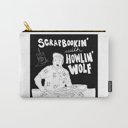 Scrapbooking with Howling Wolf Carry-All Pouch