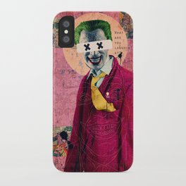 What Are You Laughin' At? iPhone Case
