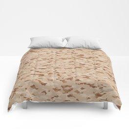 Camouflage: Arid Desert IV Comforters