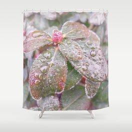 Dawnesque Dew Shower Curtain