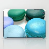 macaroons iPad Cases featuring Macarons / Macaroons by WhimsyRomance&Fun