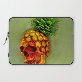 Pineapple Skull Laptop Sleeve