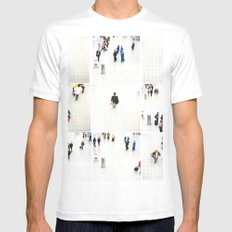 people ruch houer White MEDIUM Mens Fitted Tee