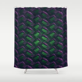 Lazarus Pits Shower Curtain