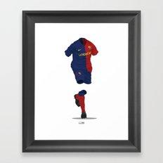 Barcelona 2008/09 - Champions League Winners Framed Art Print
