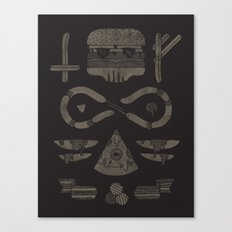 Fast Food Occult Canvas Print