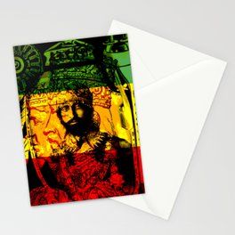 Haile Selassie Lion of Judah Stationery Cards
