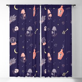 Witch pattern Blackout Curtain