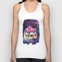 cake Tank Tops featuring Cake by Andreea Maria Has