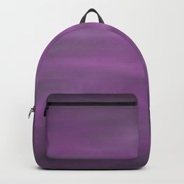 Abstract Watercolor Blend 12 Black, Gray and Purple Graphic Design Backpack