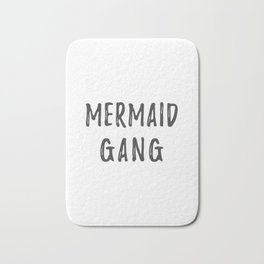 Mermaid Gang Bath Mat