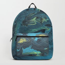 The Depths of Teal Backpack