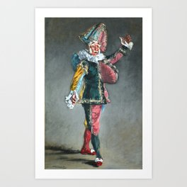 "Édouard Manet ""Polichinelle"" Art Print"