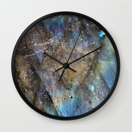 LABRADORITE 1 Wall Clock