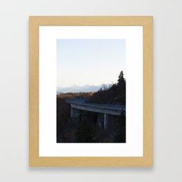 Viaduct Craze Framed Art Print