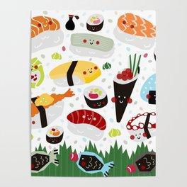 Sushi galore Poster