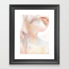 Like fish in the water Framed Art Print