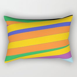 Roots - Colour Wrap Rectangular Pillow