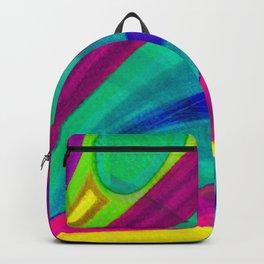 Fragmentos de matices de vida color 3 Backpack