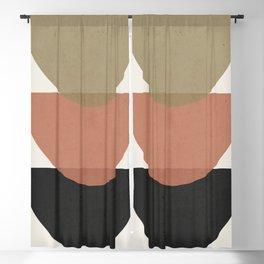 Minimal Abstract Art 22 Blackout Curtain