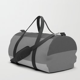 Soft Gray Stripes in Perfect Balance Duffle Bag