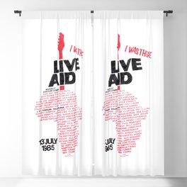 Live Aid Live Aid, benefit concert Blackout Curtain