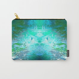 Forest Fairy (green-blue) Carry-All Pouch