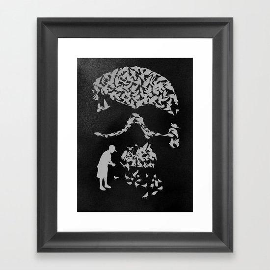 Pigeonholed Framed Art Print
