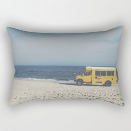 Kismet Beach Bus Rectangular Pillow