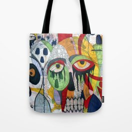 Smile at fear Tote Bag