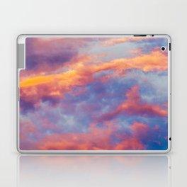 Beautiful Pink Orange Blue Purple Cotton Candy Clouds Fairytale Sky Laptop & iPad Skin