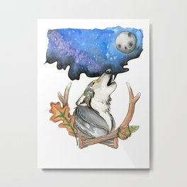 The Wolves Are Calling Metal Print