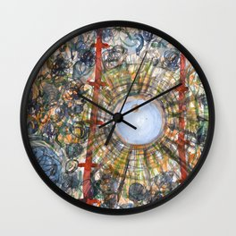 Strong and Calm Source Wall Clock