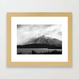 The Hunter Mountains, Lake Manapouri - New Zealand Framed Art Print