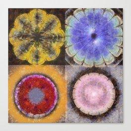 Ergastic Entity Flower  ID:16165-005314-25310 Canvas Print