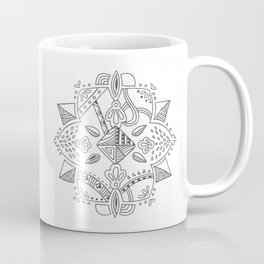 Mandala start Coffee Mug